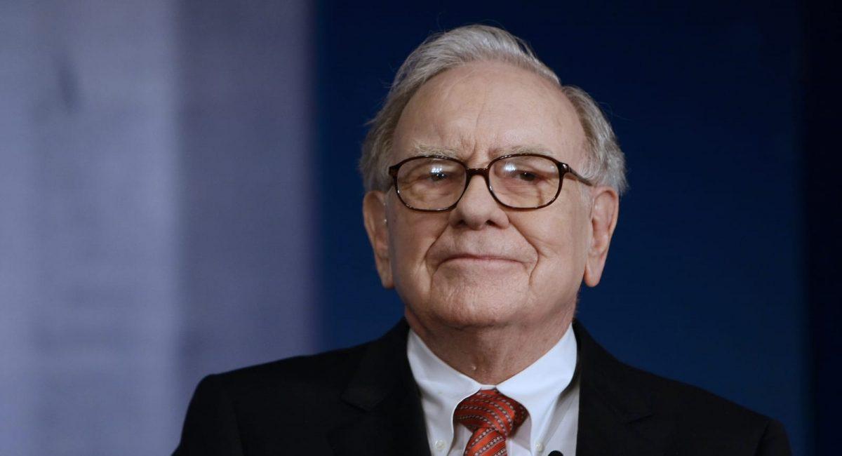 A photo of Warren Buffet
